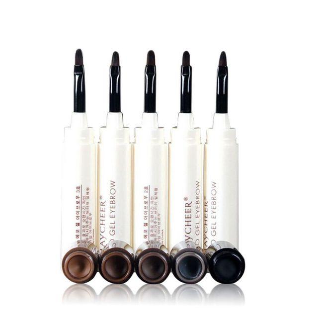 1pc Professional Makeup Women Girl Eye Brow Not Shading Threading Cream Natural Perfect Eyebrow Gel Long Lasting Eyebrow Enhancers