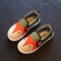 2016 del otoño Niños niñas zapatos de lona de los niños zapatos de imágenes de dibujos animados para niños zapatos niños zapatillas de deporte de moda zapatos casuales CS-142