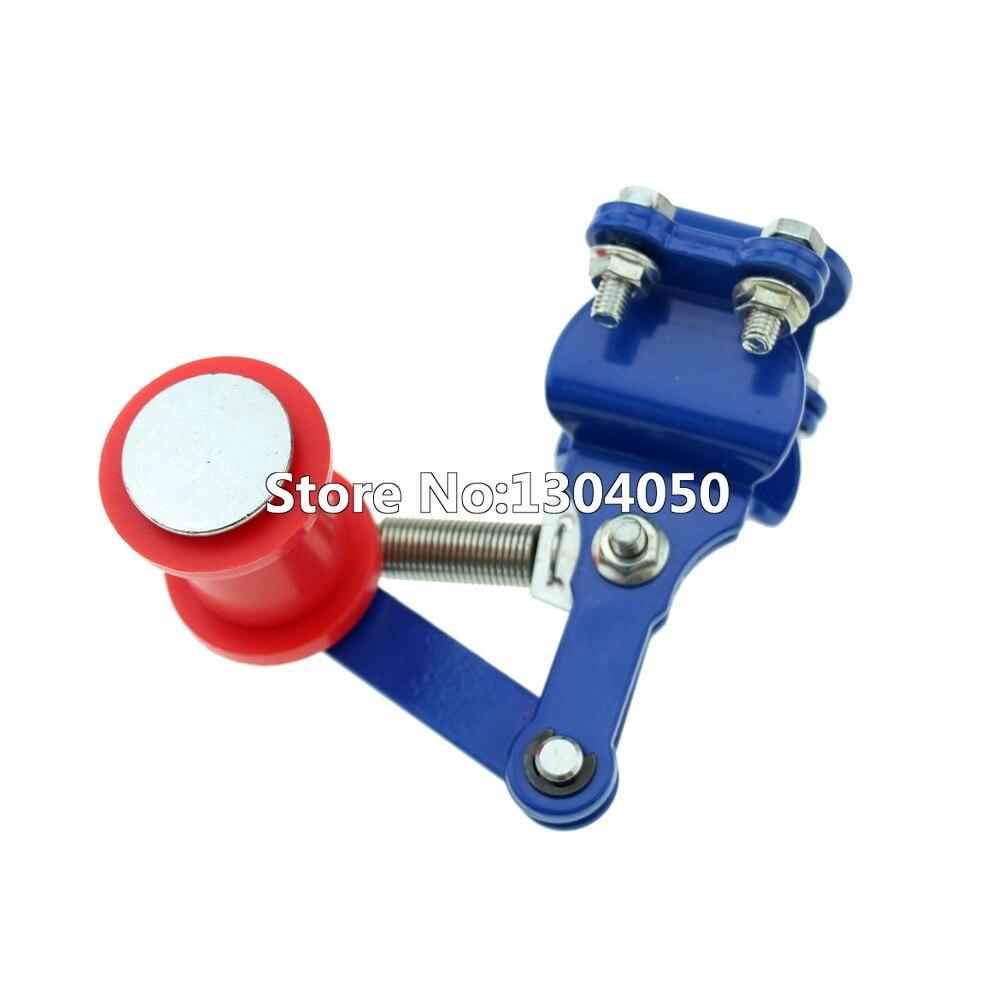 Tendicatena 100/% nuovo di alta qualit/à per moto tendicatena tendicatena regolatore catena moto tensione universale Fit moto pi/ù