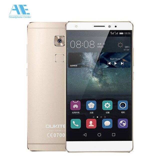 Original Oukitel U13 MTK6753 Octa Core Android 6.0 Smartphone 5.5 Inch Fingerprint 3G RAM 64G ROM 16.0MP Camera Mobile Phone