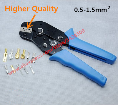 Higher Quality SN-48B Tool Professional Terminals Crimping Plier 0.5-1.5mm2 Multi Tools Hands high quality mini blue europe style crimping tool crimping plier 0 5 6mm with screw driver multifunction hands tools set