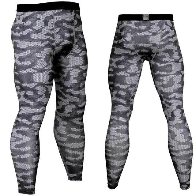 2018 nuevo camuflaje para hombre medias de compresión mallas deportivas pantalones  de gimnasio c2349949621e6