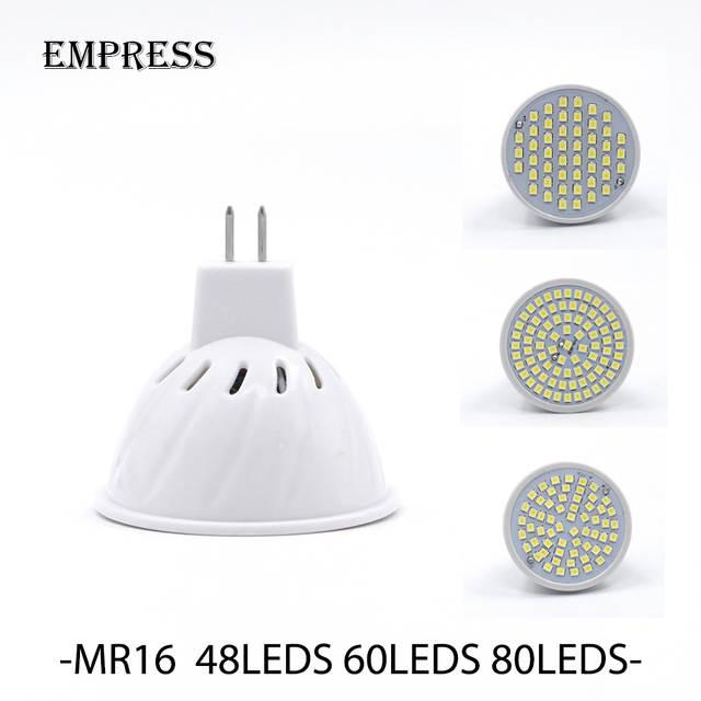 Lampada 48LED 60LED GU10 W SMD2835 V LED led bombilla E27 LED W W 5 del 220 V E14 lámpara 80LED Bombillas 7 240 proyector MR16 Bombilla Spot 3 BCQxrtshdo