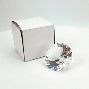Image 3 - Hbl 20mm ~ 50mm 10pcs 지우기 크리스탈 다이아몬드 유리 문진 장식 유리 다이아몬드 홈 인테리어 액세서리 웨딩 선물