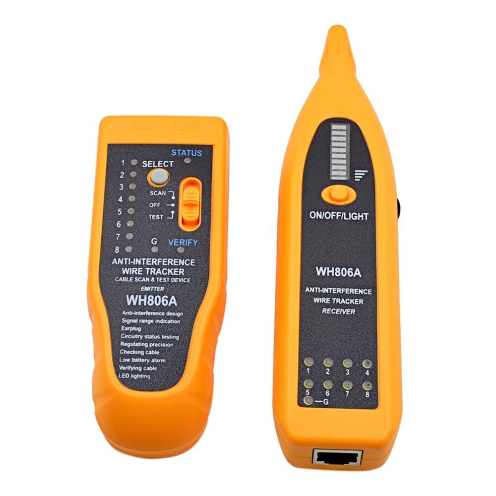 MJTEK Professionelle WH806A Kabel Tester Ethernet Draht Lan ...
