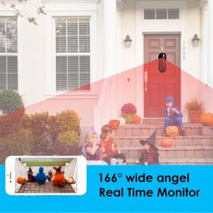Image 2 - Akıllı WIFI kapı zili telefonu Video kapı zili WI FI kapı zili kamera daireler için IR Alarm kablosuz güvenlik kamera su geçirmez