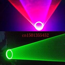 قفازات ليزر بدوامة دائرية خضراء اللون للرقص والحفلات DJ Club 532 نانومتر 650nm 40nm