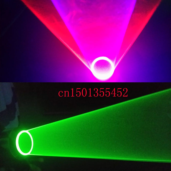 Laser virvelhansker Auto Green Rotating Vortex Laserhanske for Dance Party DJ Club 532nm 650nm 405nm