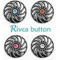 Botón A Presión Rivca Joyas Estilo de Botón A Presión de Metal Rhinestone Pulseras Para Las Mujeres Brazalete de Europa Perlas Regalos de Navidad D03193