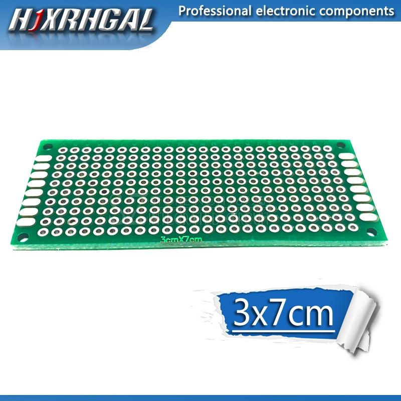 5pcs 3x7cm 3*7 Double Side Prototype PCB Diy Universal Printed Circuit Board Hjxrhgal