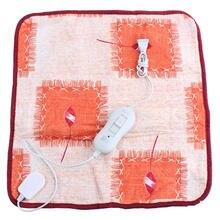 1 adet yüksek kaliteli Pet köpek yavru elektrikli ısı pedi köpek kedi tavşan ısıtıcı Mat battaniye yatak 20W 220V ~ 50HZ 40*40cm renk rastgele
