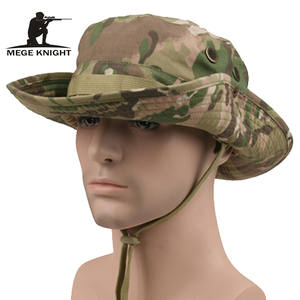 14418c53715 MEGE KNIGHT Camouflage Boonie Hats Cap Mens Military