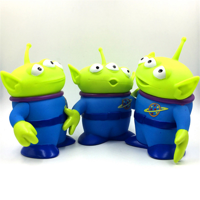 14cm PVC Alien Toy Story Alien Figures Action Figure Doll Anime Brinquedos Kids Toys For Children Birthday Gift in Action Toy Figures from Toys Hobbies