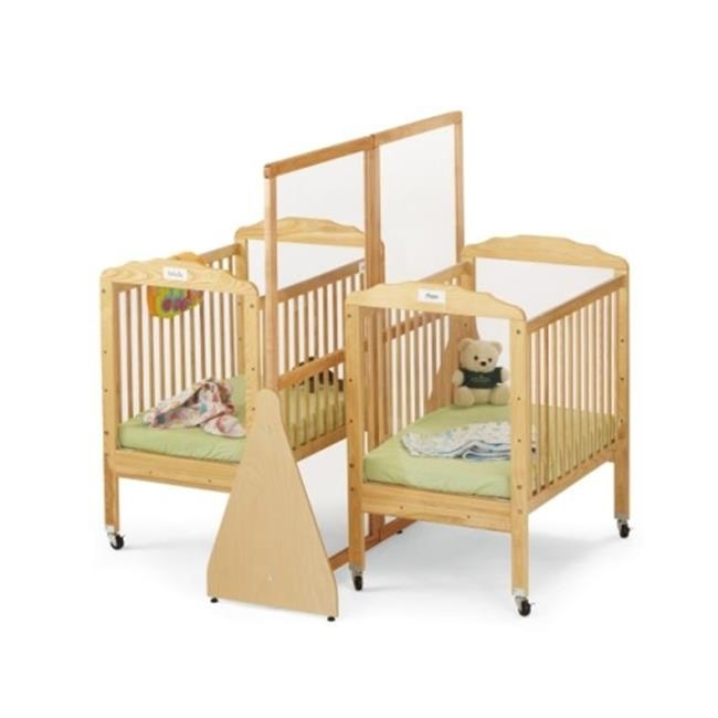 JONTI-CRAFT 1654JC JONTI-CRAFT SEE-THRU CRIB DIVIDER - SMALL lace panel see thru vintage dress