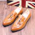 Tidog British Korean stylist tassel shoes men wedding loafer shoes