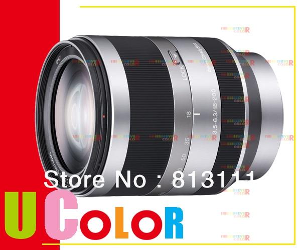 Sony Alpha E 18-200mm f/3.5-6.3 Lens SEL18200 for E Mount NEX-7 NEX-6 NEX-5R NEX-3N sony alpha a6000lb