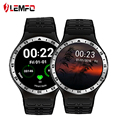 2017 novo melhor lemfo s99a smart watch android 5.1 1.3g quad core gps wi-fi smartwatch para samsung huawei xiaomi android smartphones