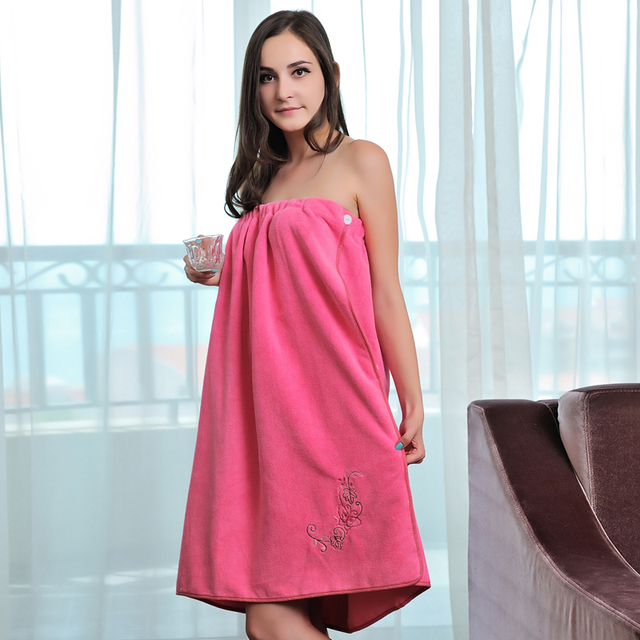 Hilift ultrafine fiber tube top bath skirt suction bath skirt bath towel skirt female clothing magicaf khan steam bath towel