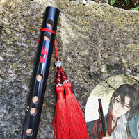 The ancient black bamboo flute beginner petitioned the zero based entry without magic props