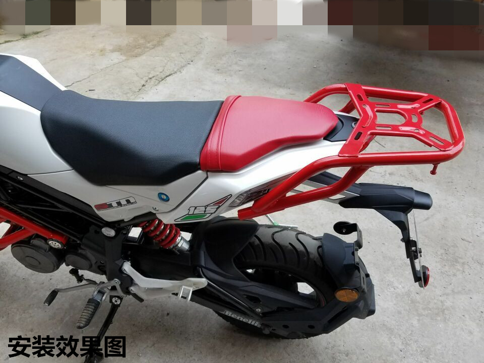 US $84 55 5% OFF BJ125 3E TNT125 Rack Rear Box Rear Case Trunk Luggage  Rack-in Covers & Ornamental Mouldings from Automobiles & Motorcycles on