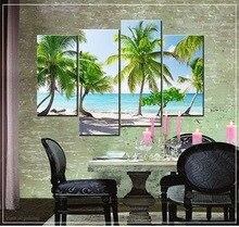 Embroidery With Diamonds Rhinestone Diamond Mosaic The sea coconut trees Painting Cross Stitch Kits Beadwork Needlework Crafts