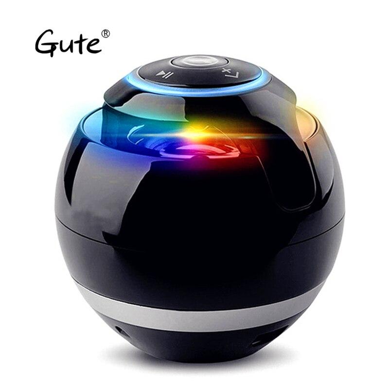 Gute Moda Mini Rodada BT Sem Fio Bluetooth Alto-falantes bluetooth altavoz Coluna alto falante caixa de som portátil de música ur3 var