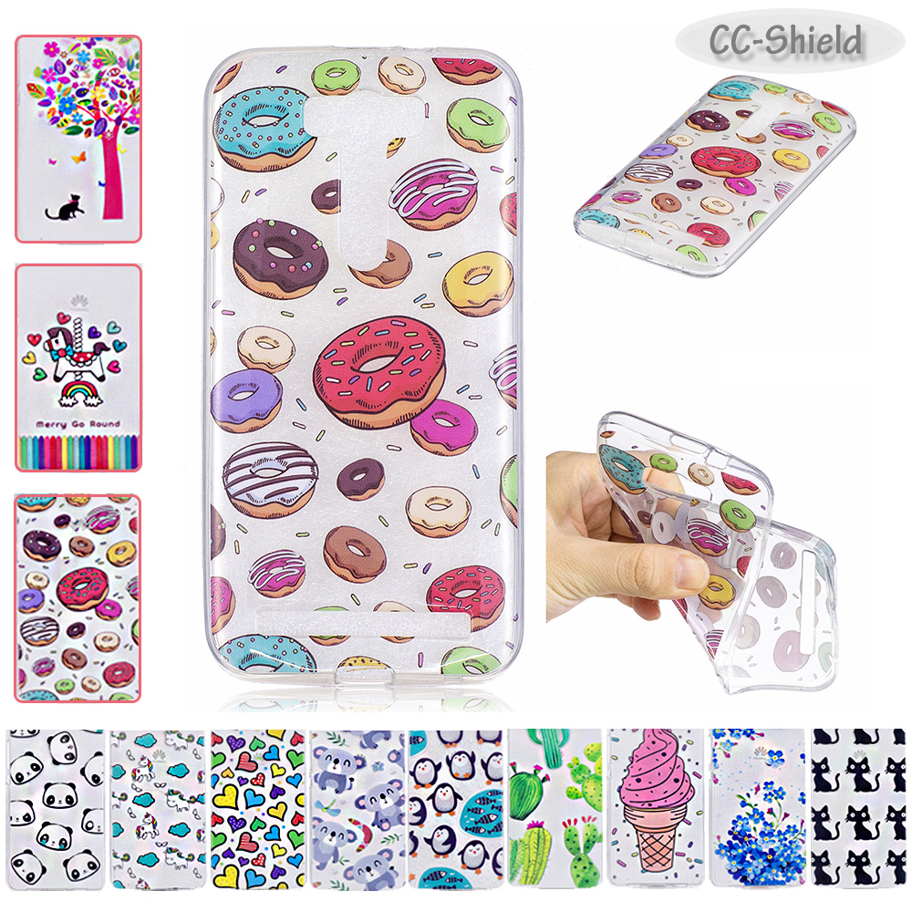 Fitted TPU Case for ASUS Z00ED Zenfone 2 laser ZE500KL ZE ZE500 500 500KL KL Z00E ASUS_Z00ED 5.0'' Soft Silicone Phone Cove Case