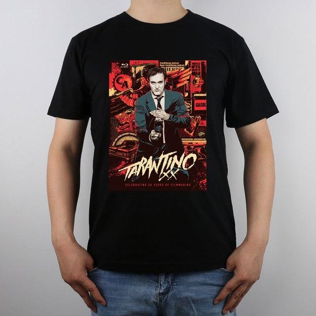 Quentin Tarantino Final Top T-shirt camisa Dos Homens T Novo Design Puro Algodão de Alta Qualidade