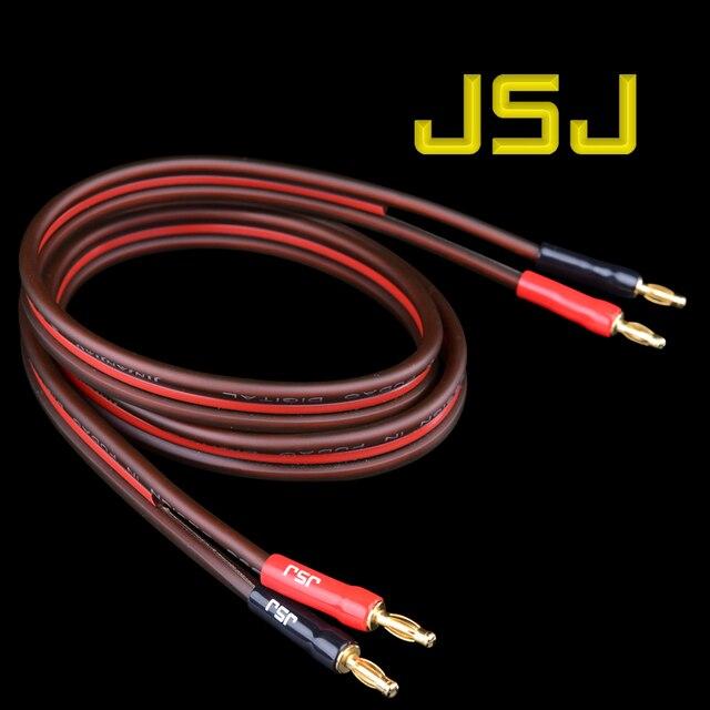 JSJ Golden Triangle banana wire speaker cable audio line amplifier ...