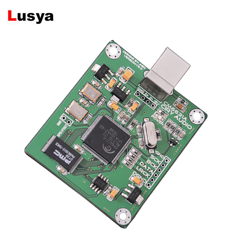 Digital-analog-wandler Cm6631a Digital Interface Karte Modul Usb Dac Board Usb Zu Iis Spdif Ausgang 24bit 192 K F3-011 Unterhaltungselektronik