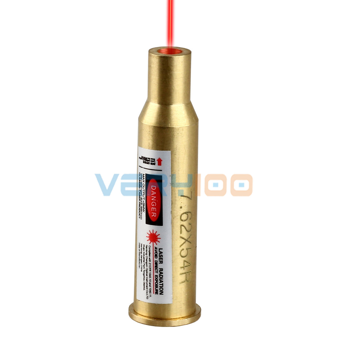 7.62 x 54R Laser Cartridge Bore Sight Boresighter Brass Sighter