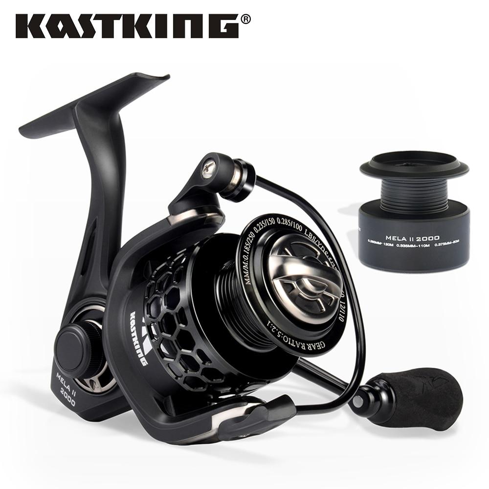 KastKing Mela/Mela II Upgrading Carbon Fiber Drag Spinning Reel with Fishing Reel