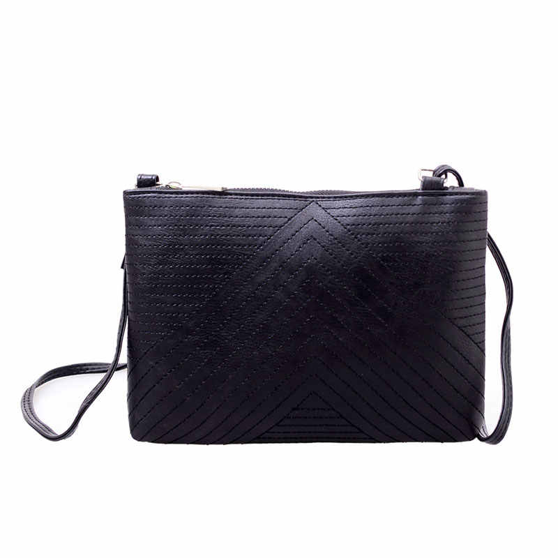 b857a1785365 Женские сумки через плечо с длинным ремешком Элегантные PU кожаные сумки  через плечо женские уличные сумки