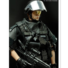 Nouveau Style 1/6 Soldat Action Figure de Sniper En Plastique Militaire Jouets pour Enfant Birthdat Cadeau, 12 Pouce Collection Jouet soldats Ensemble