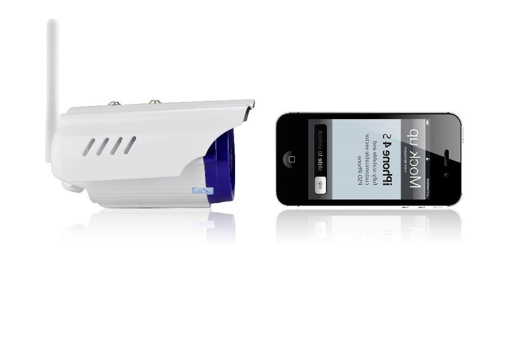 720 P Открытый водонепроницаемый IP Камера ИК Ночное видение Поддержка 128 г хранения ка ...