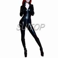 0.8MM thick rubber latex heavy suit bodysuit garment