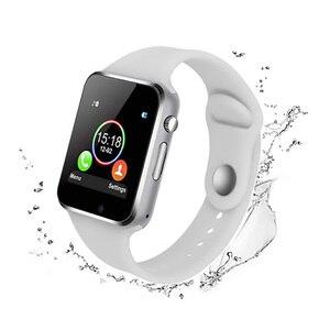 Image 3 - A1 наручные часы Bluetooth умные часы спортивные Шагомер с сим камерой умные часы для Android смартфонов мужские и женские умные часы