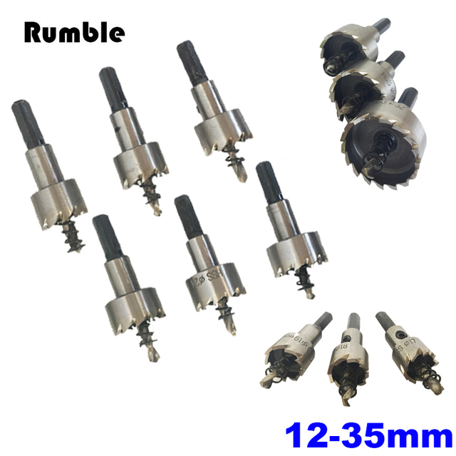1pcs 12 35mm Hss High Speed Steel Core Drill Bit Holesaw