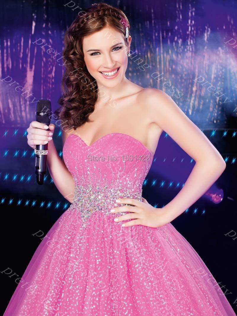 Centro Novias 2015 moldeado cristalino lentejuela vestidos del ...