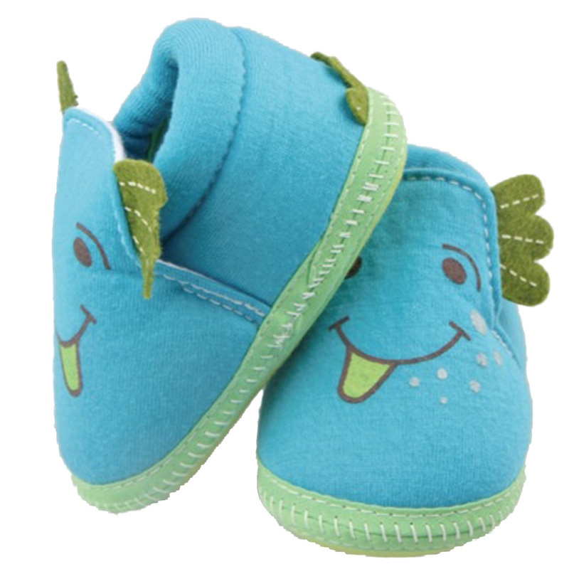 Newest Kids Baby Boys Girls Cotton Bucktooth Doll Infant Soft Sole First Walker Toddler Shoes