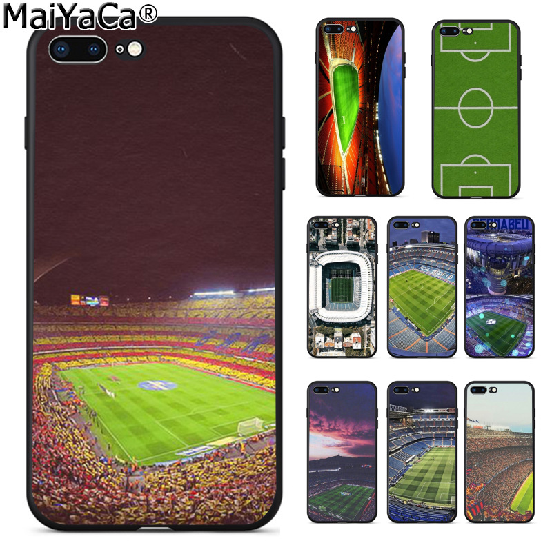 MaiYaCa Santiago Bernabeu Soccer Estadio Newest Fashion Luxury phone case for Apple iPhone 8 7 6 6S Plus X 5 5S SE 5C Cover