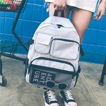 Backpack For Teens Girl Big Capacity Schoolbags Backpack Women's Fashion Travel Bag Okul Cantasi Male Backpack Mochila Feminina