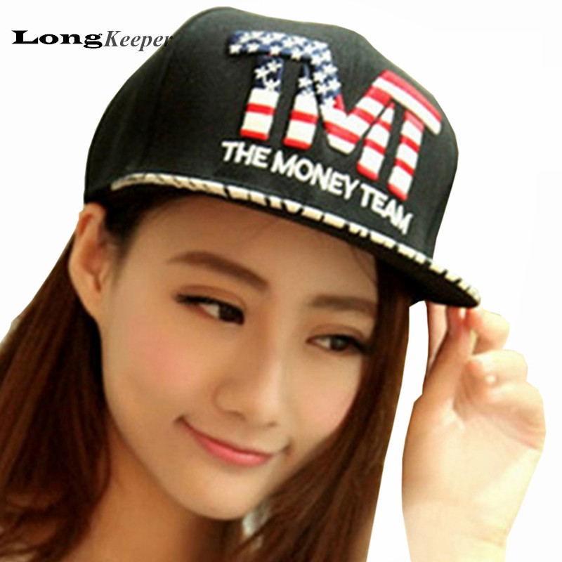 Cute hiphop snapback caps Hip Hop cap Baseball hat hats for men women bones American flag pattern bone gorras casquette CA06