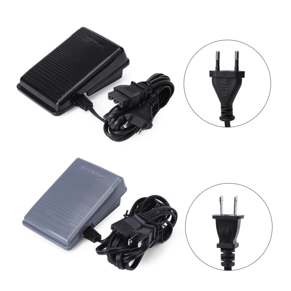 1pc Sewing Machine Parts Foot Controller Pedal For Singer Sewing Machine Foot Pedal EU Plug US Plug