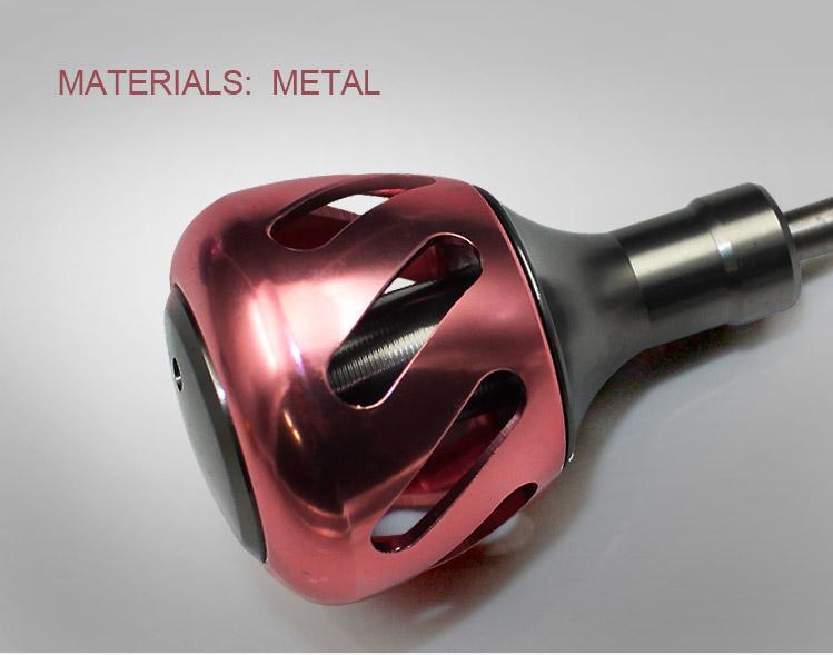 Alumiiniumist spinningu käepidemed