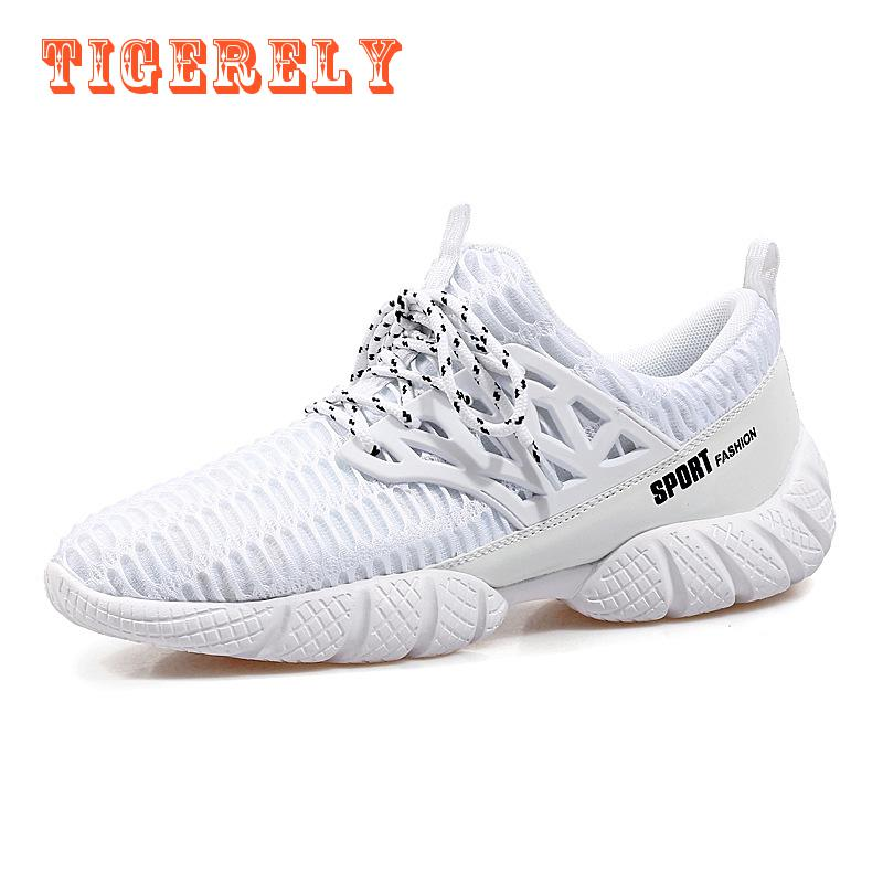 ФОТО Running Shoes for Men Women Fasion Sneakers 2017 Mesh Breathable Sport Shoes Men Beach Water Shoes Womens Trainers(255)
