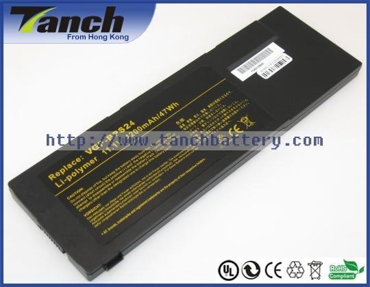 Laptop batteries for SONY VGP-BPSC24 VAIO VPC-SB190S VPC-SB11FXB PCG-41216W VPC-SA25EC VPC-SB25FA/B 11.1V 6 cell vaio vpc eh2m1r w купить