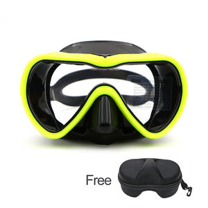 74e4c050c3c Speefish Scuba Diving Mask 4 Color adult Snorkeling Silicone Anti-fog  Tempered glass Dive Equipment Wide Vision Swimming Goggles