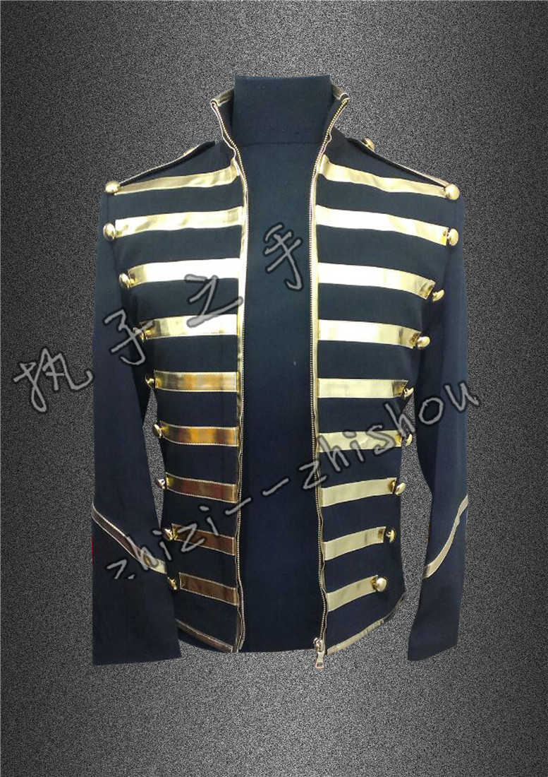 new 2016 male singer Napoleon wind coat The European and American stars dj dancer stage jacket costumes ! the wind dancer storm winds