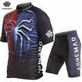 Adhemar de manga corta para hombres ropa de ciclismo de poliéster Conjunto de jersey de ciclismo para hombres ropa de bicicleta de verano